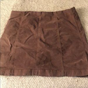 Corduroy Free People Skirt, size 10